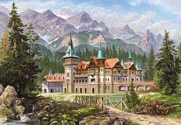 Hrad na úpatí hor