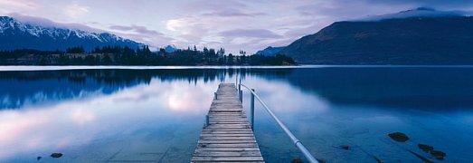 Jezero Wakatipu, Nový Zéland