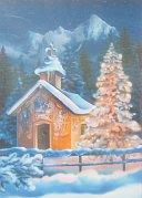 Kostelík o Vánocích