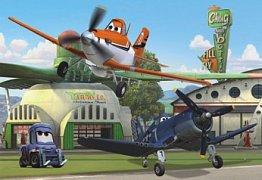 Letadla: U hangáru