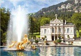 Linderhof Palác, Německo