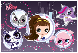Littlest pet shop - Super stars