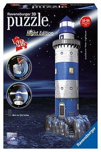 Maják v příboji  (Noční edice) 3D 216d - 1