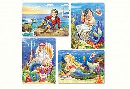 Malá mořská víla (8,12,15,20 dílků)