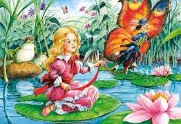Malenka s motýlem