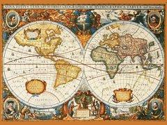 Mapa z roku 1630