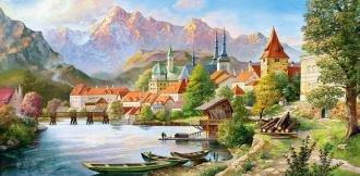 Město v horách