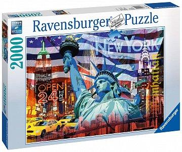 New York koláž 2000 dílků - 1