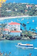 Ostrov Svatý Jan, Karibik
