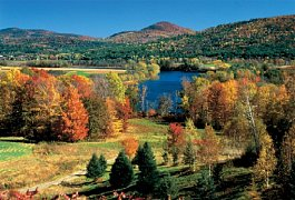 Podzim ve Vermontu