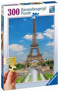 Pohled na Eiffelovu věž 300 dílků - 1