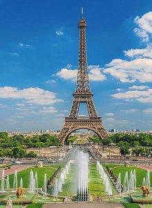 Pohled na Eiffelovu věž 300 dílků - 2