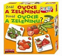 Poznáš ovoce a zeleninu?