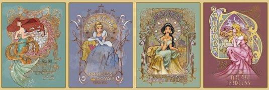 Princezny, Art Nouveau