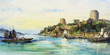 Přístav a pevnost Rumeli, 1879, Konstantinopol