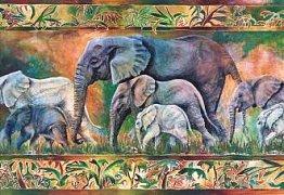 Průvod slonů