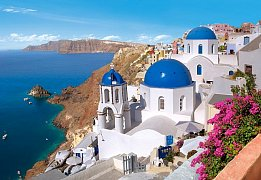 Santorini, Řecko