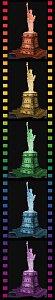 Socha Svobody 3D (Noční edice) 108d - 3