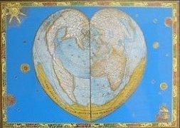 Starodávná mapa světa
