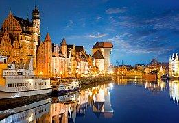 Starý přístav, Gdansk, Polsko