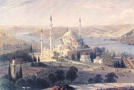Sulejmanova mešita, Istanbul, Turecko