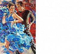 Tanec v modrém rytmu