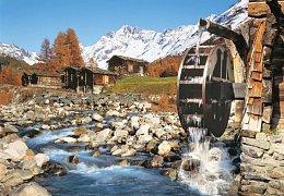 Údolí Lotschental, Švýcarsko