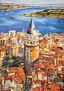 Věž Galata, Istanbul, Turecko