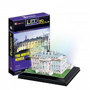 White House svítící