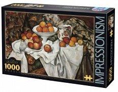 Zátiší s jablky a pomeranči