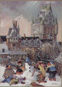 Zima v Quebecu - 1